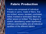 fabric production