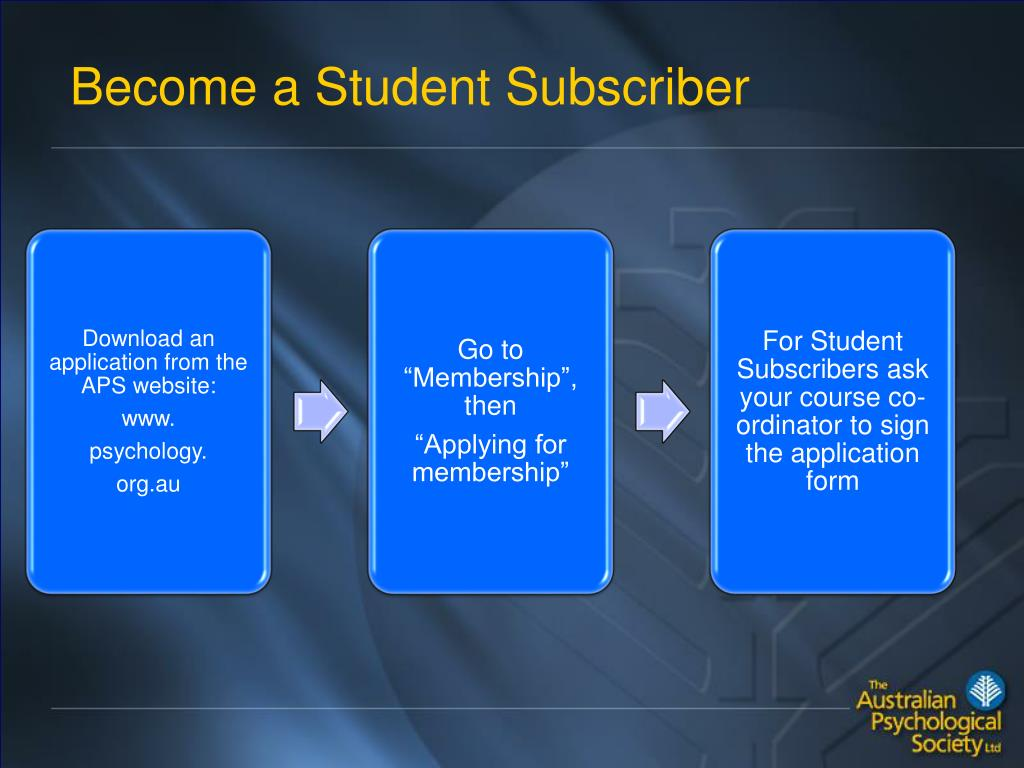 Become a Student Subscriber