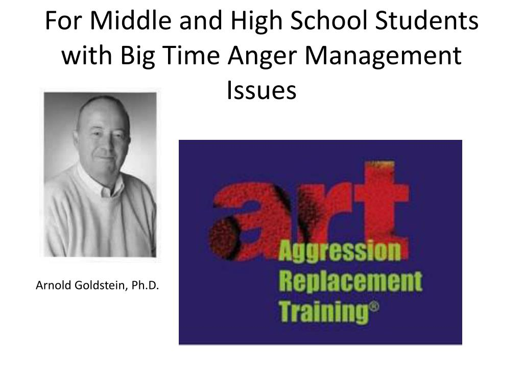 For Middle and High School Students with Big Time Anger Management Issues