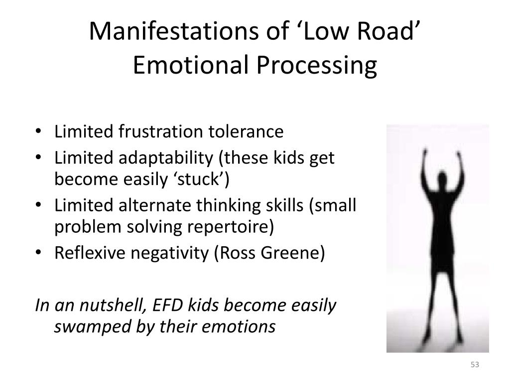 Manifestations of 'Low Road' Emotional Processing
