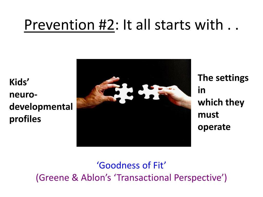 Prevention #2