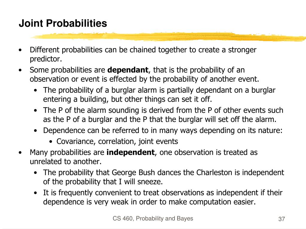 Joint Probabilities