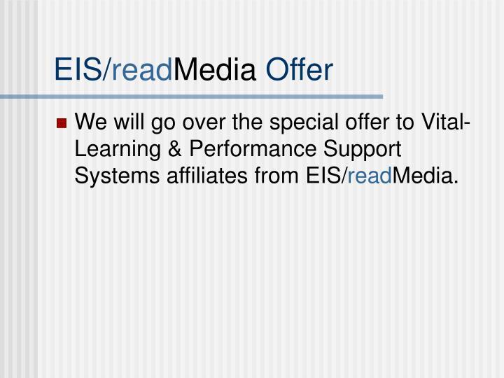 Eis read media offer