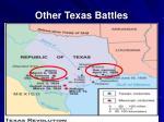 other texas battles