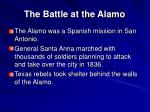 the battle at the alamo
