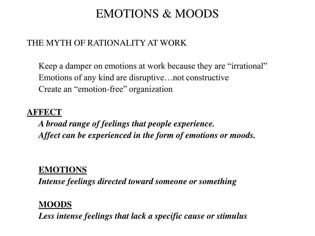 emotions moods l.
