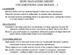 how managers might use emotions and moods 2