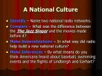 a national culture21