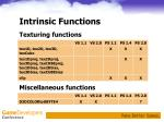 intrinsic functions45