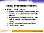typical production pipeline5