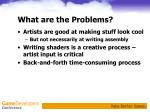 what are the problems7