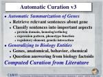 automatic curation v3