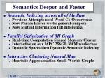 semantics deeper and faster