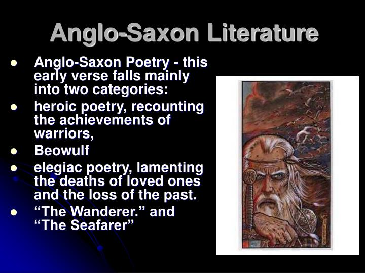the religious beliefs of the anglo saxons in the seafarer the wanderer and the wifes lament Anglo-saxon poetry, the seafarer and the wanderer, the wife's lament all things from the chart of anglo-saxon poetry  how is the wanderer different from the wife's lament the speakers are exiled for different reasons  a fundamental anglo-saxon belief is that human life is shaped by fate how is this belief reflected in the wife's.