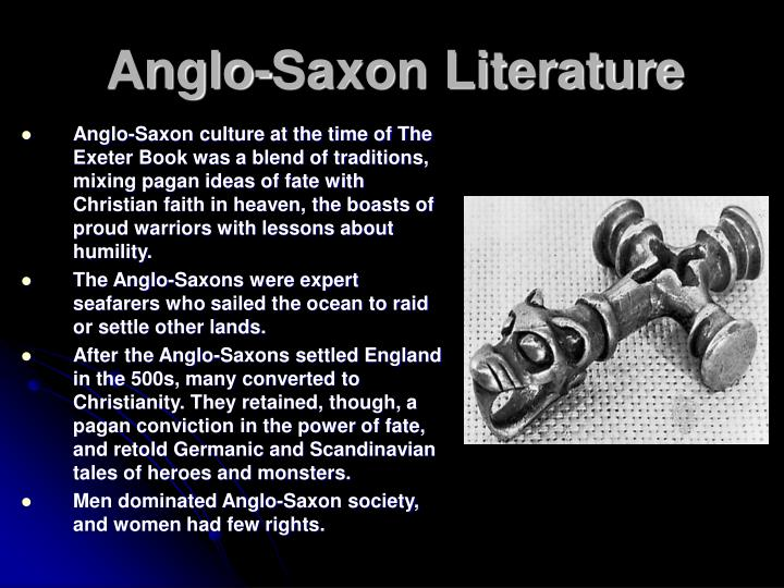 christian values versus that of paganism are main anglo saxon literature topics The anglo-saxons were originally pagan in religion the main group  the creation of this body of anglo-saxon literature although anglo-saxon culture.