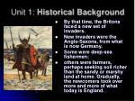 unit 1 historical background3
