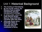 unit 1 historical background4