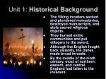 unit 1 historical background7