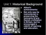 unit 1 historical background9