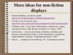 more ideas for non fiction displays
