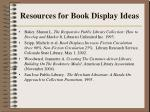 resources for book display ideas41