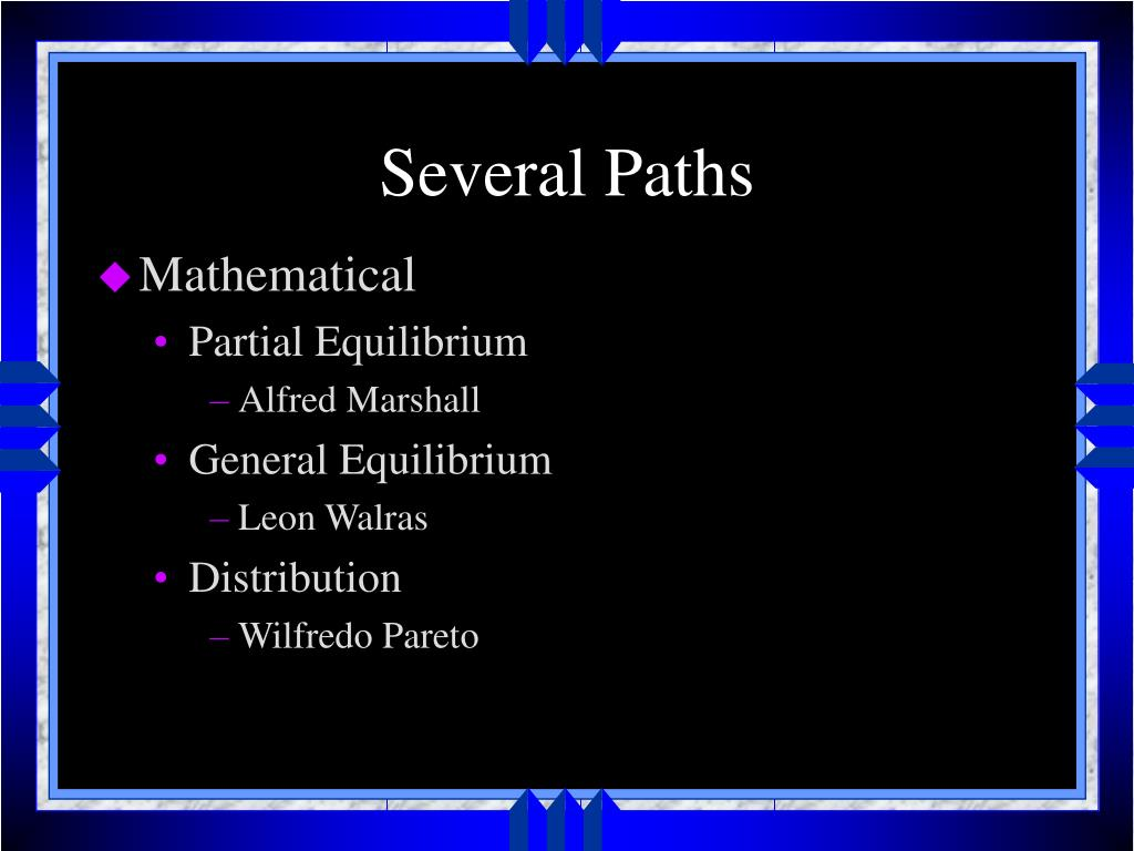 Several Paths