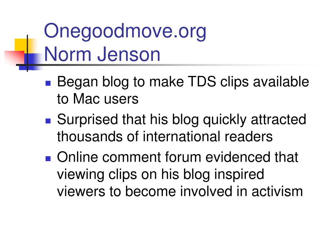 Onegoodmove.org
