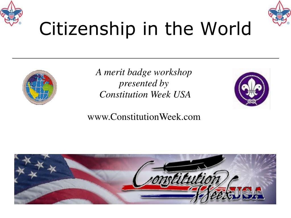 citizenship in the world l.