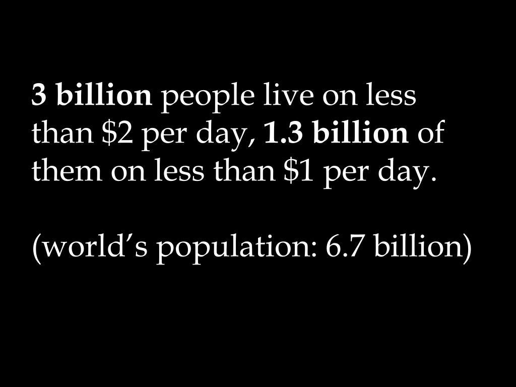 3 billion