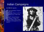 indian campaigns