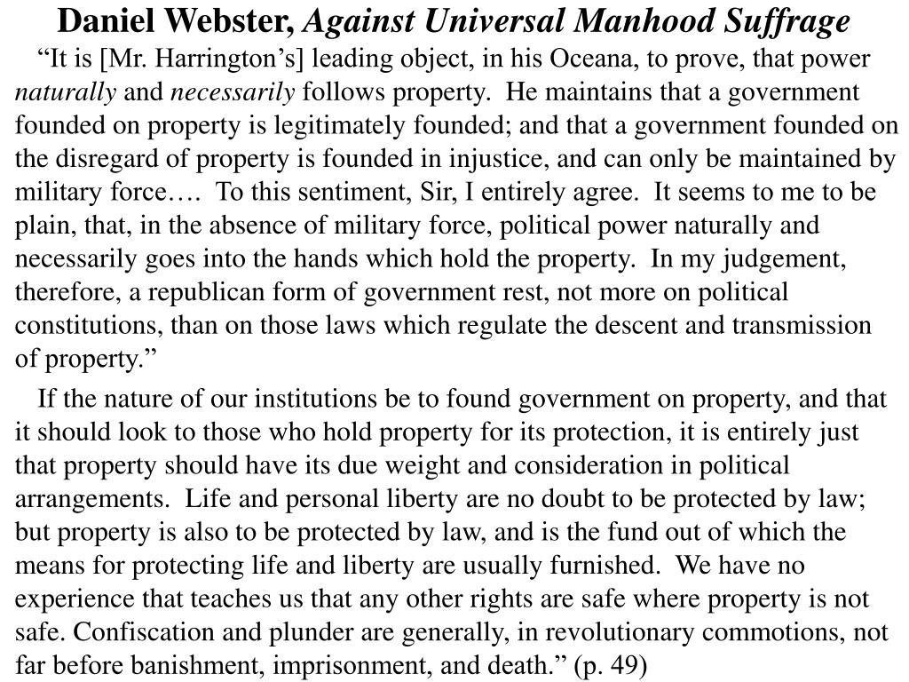 Daniel Webster,