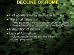 decline of rome