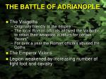 the battle of adrianople