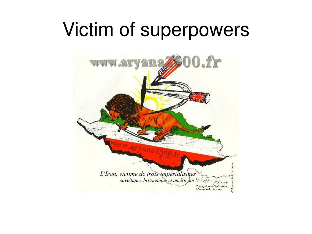 Victim of superpowers