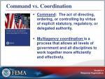 command vs coordination