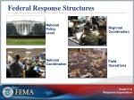 federal response structures