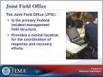 joint field office