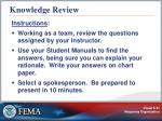 knowledge review31