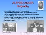 alfred adler biography