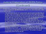judicial elaboration of sepa policy continued6