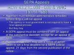 sepa appeals rcw 43 21c 060 080 wac 197 11 680