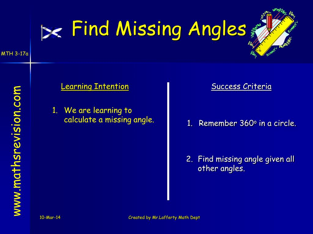 Find Missing Angles