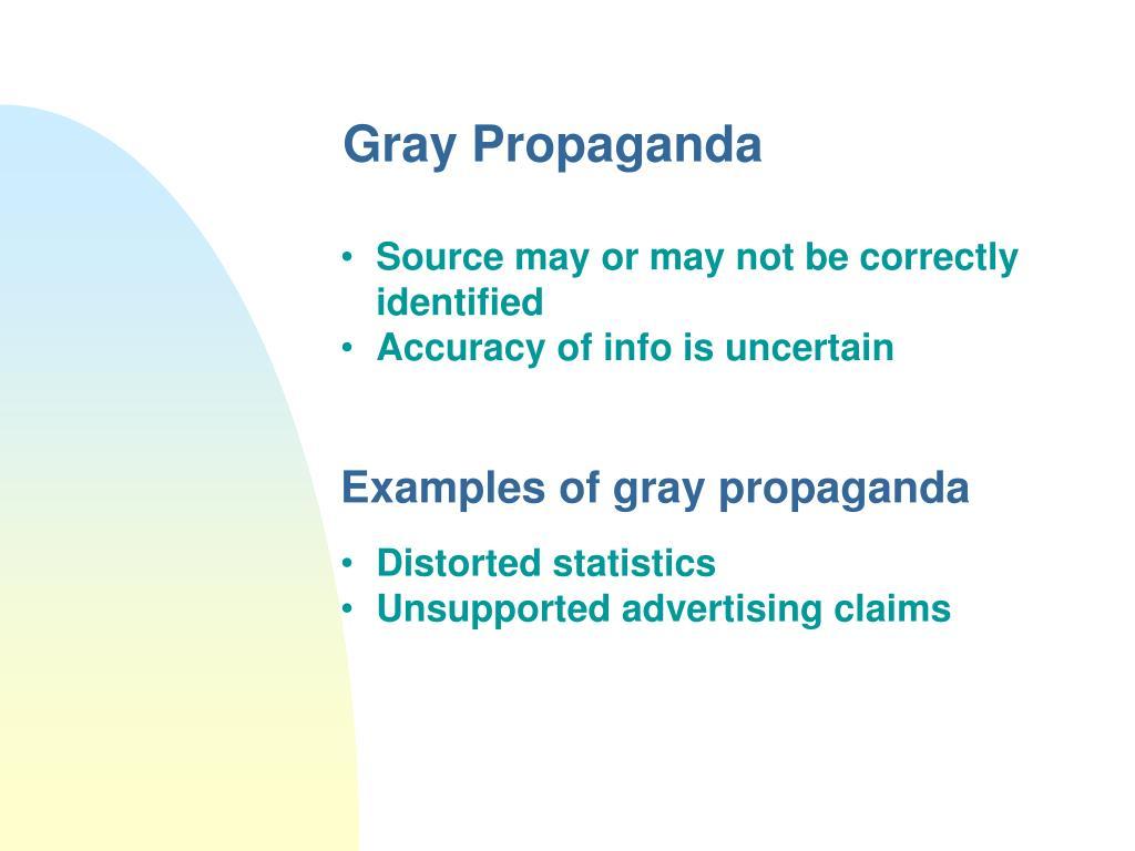 Gray Propaganda