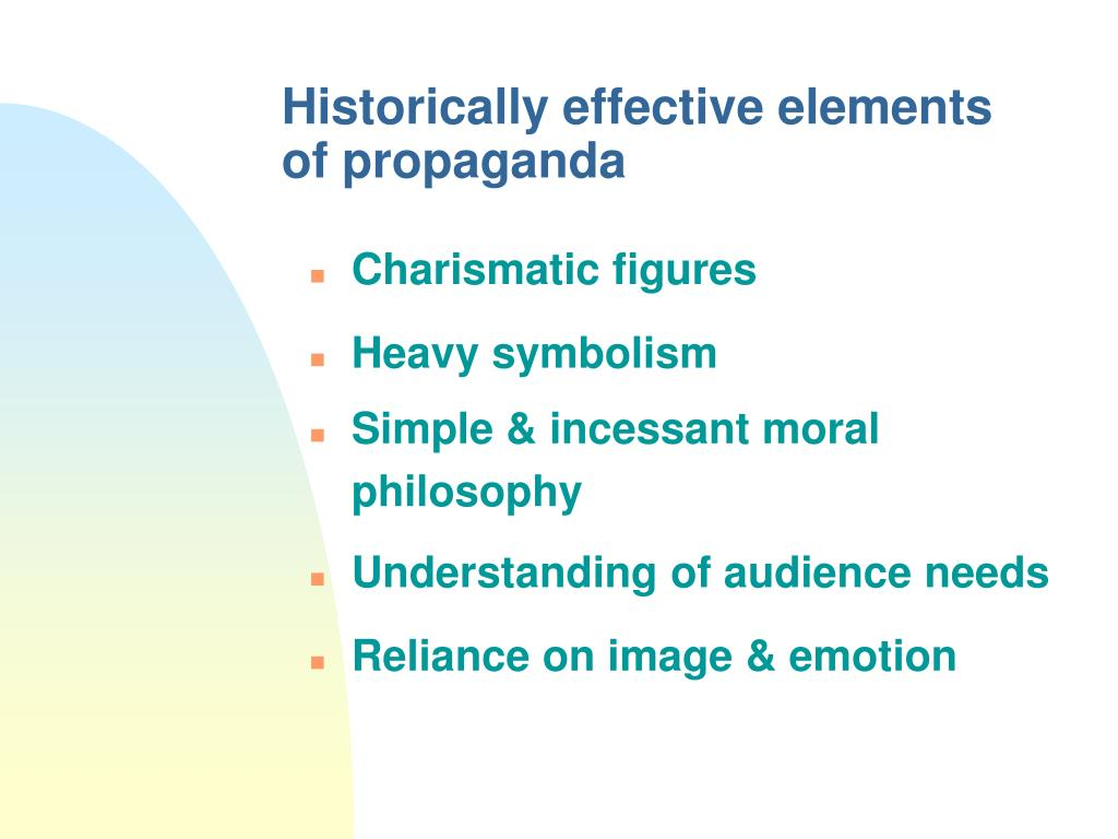 Historically effective elements