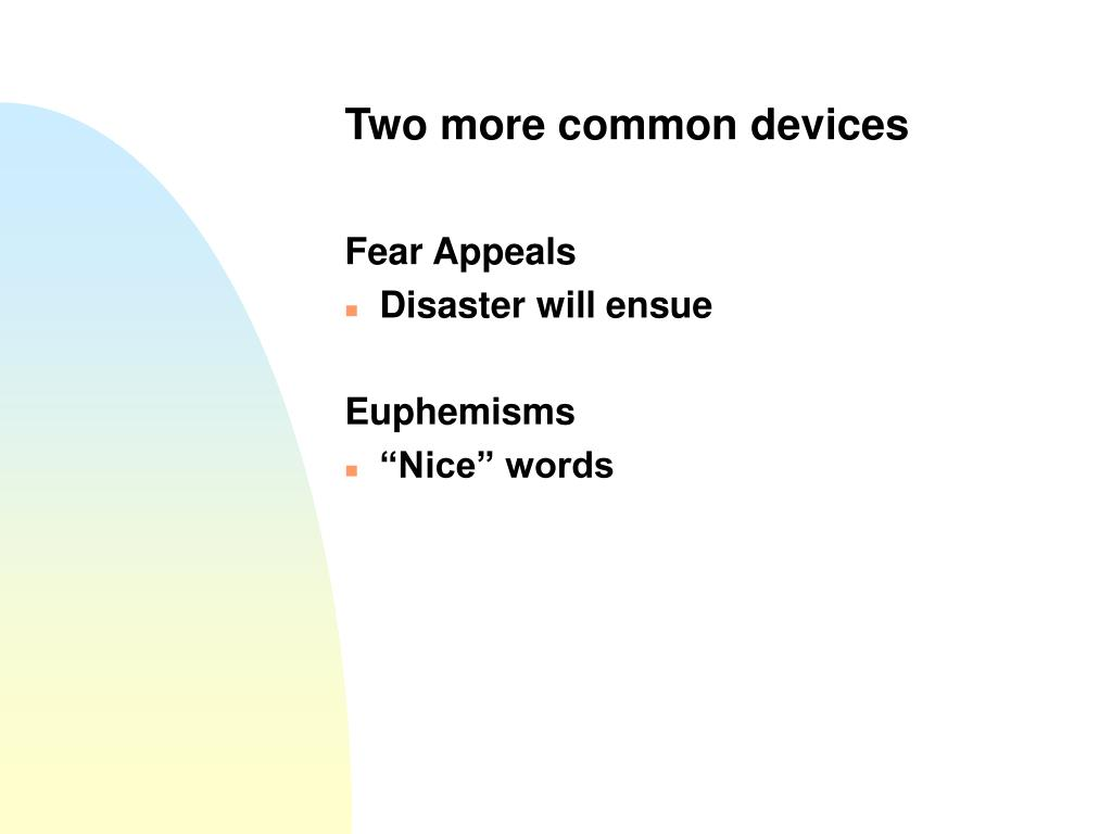 Two more common devices