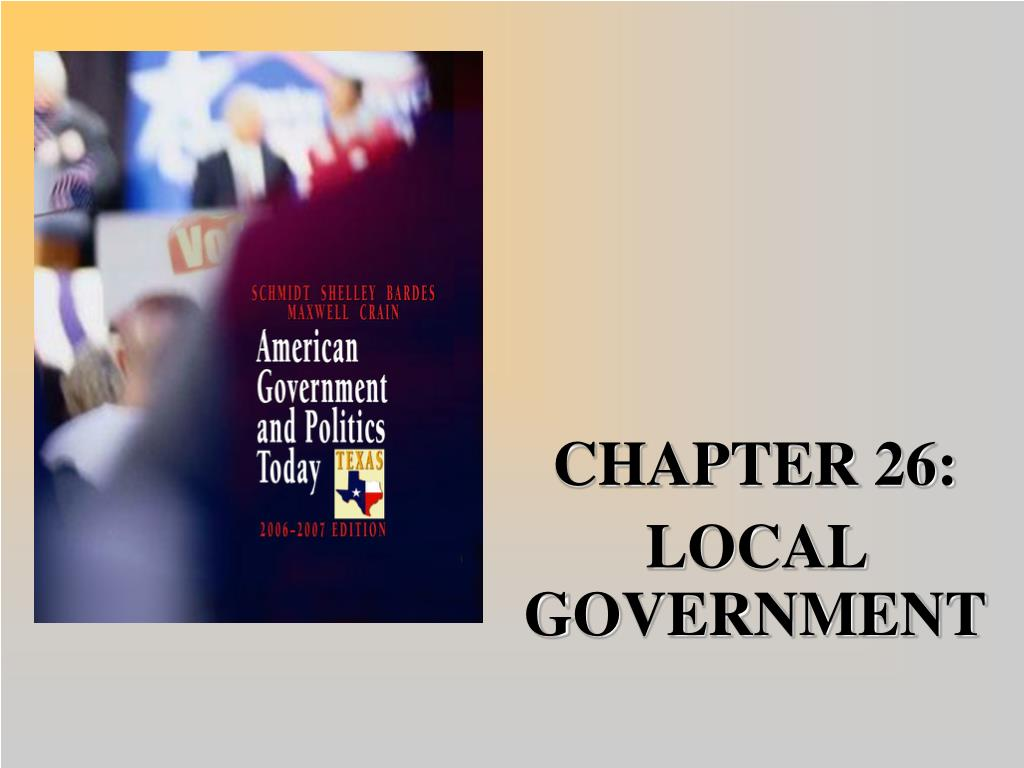 chapter 26 local government