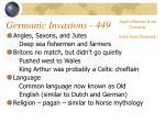germanic invasions 449