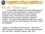 why the middle ages23