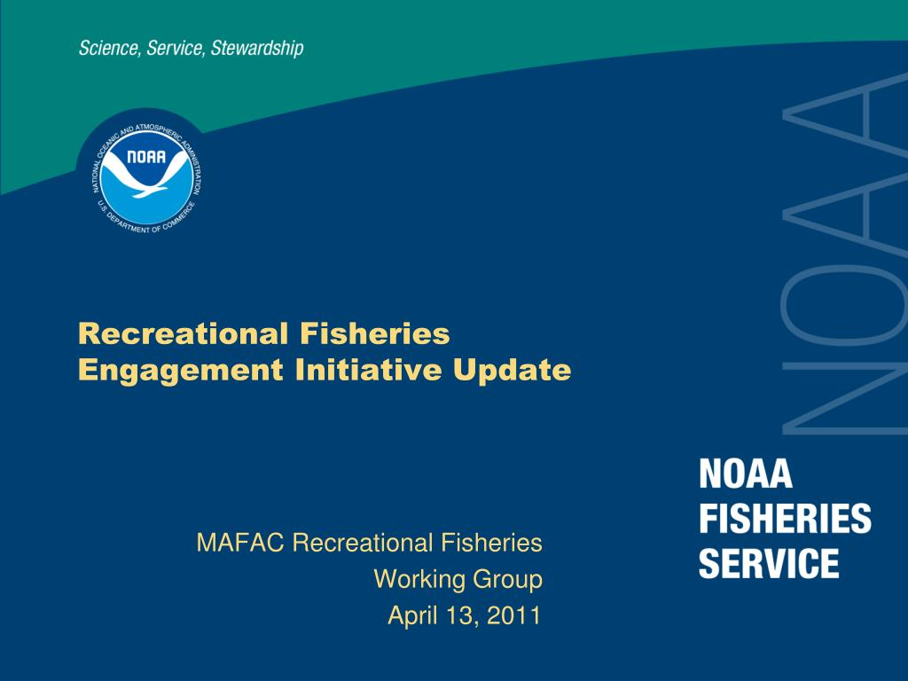 recreational fisheries engagement initiative update l.