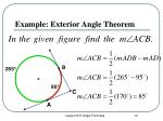 example exterior angle theorem